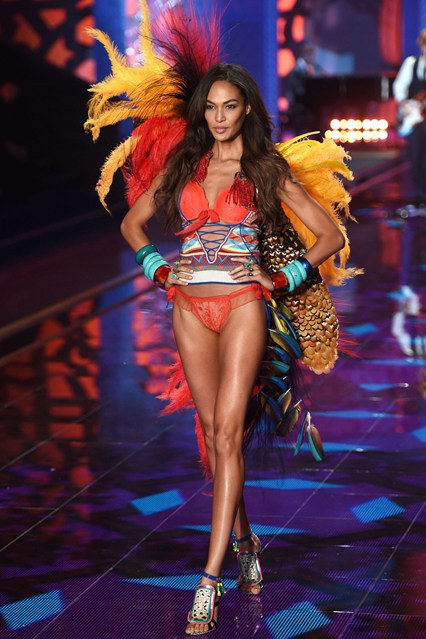 joan-smalls-exotic-traveler-for-vs-2014-london-fashion-show